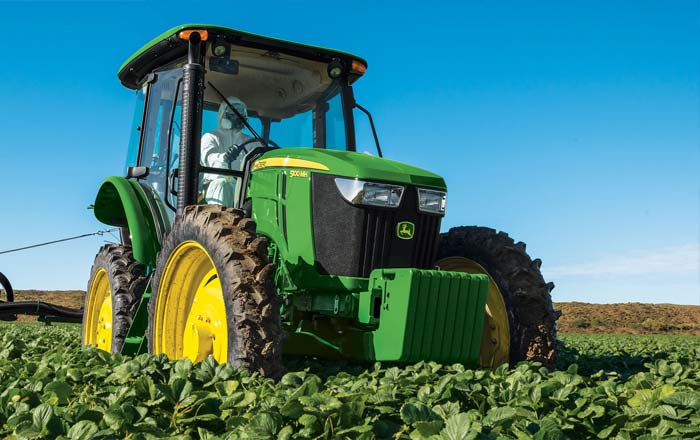 agricultural vehicles wiper systems